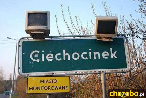 Miasto monitorowane
