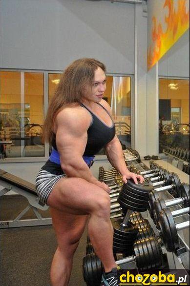 Niunia na siłowni