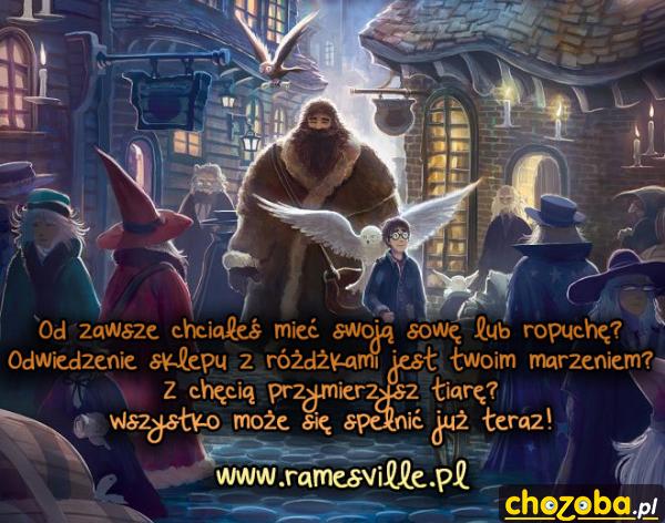 Akademia Magii Ramesville zaprasza!