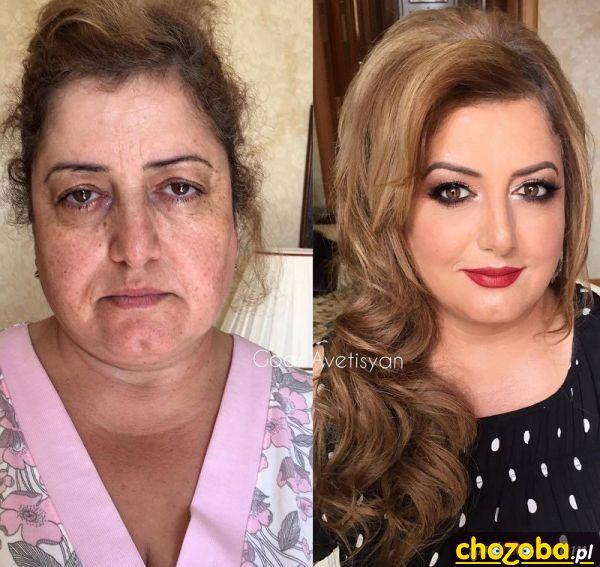 Siła makijażu