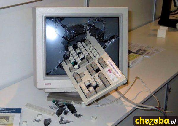 Komputer się zepsuł