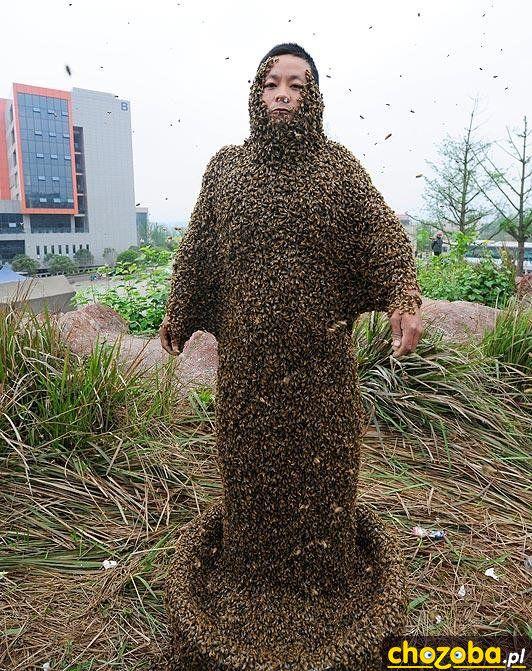 Pszczela sukienka