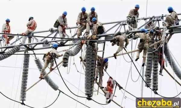 Elektrycy się dopadli