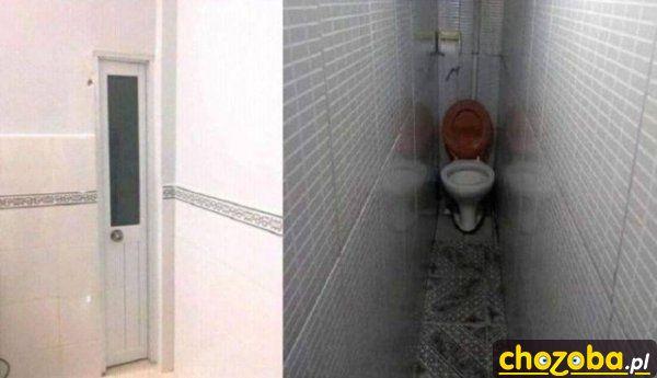 Ciasna toaleta