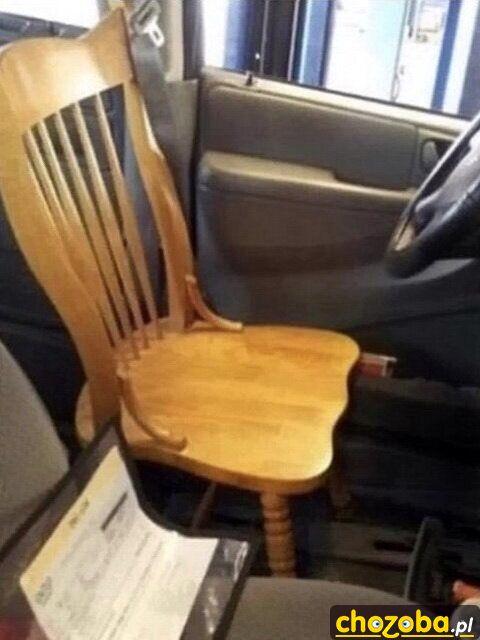 Nowy fotel do samochodu