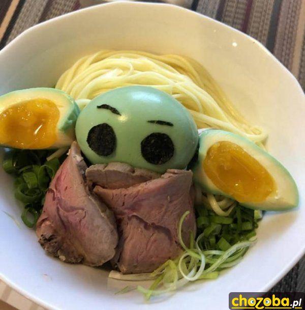 Yoda na obiedzie