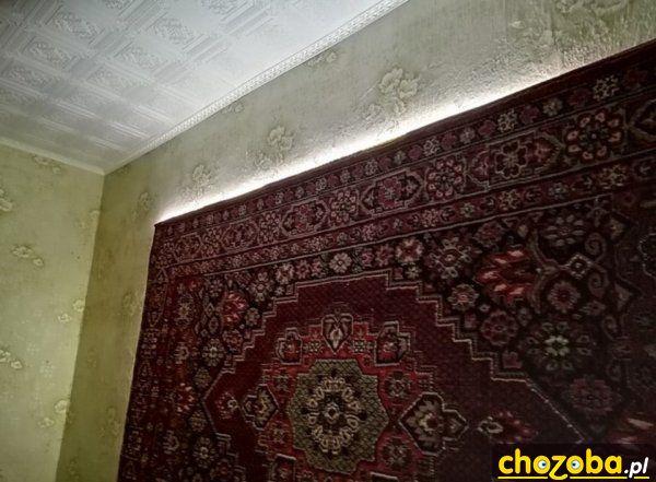 Podświetlany dywan