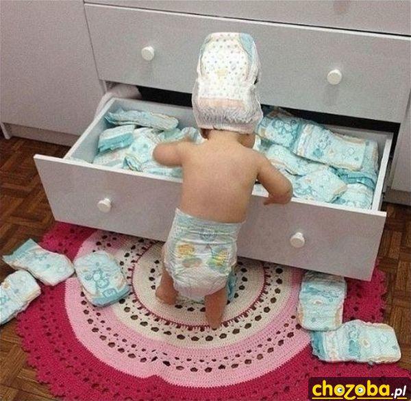 Pampersowe dziecko