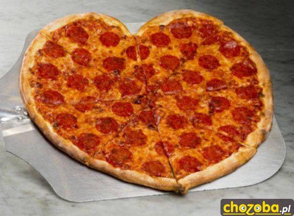 Pizza na walentynki