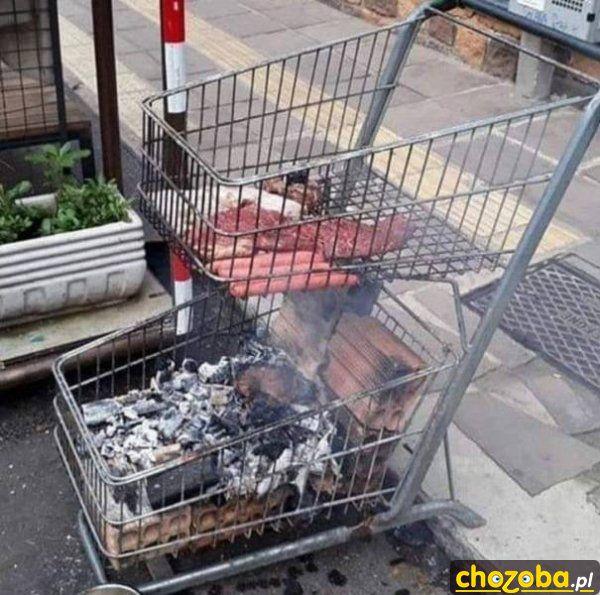 Wózek na grila