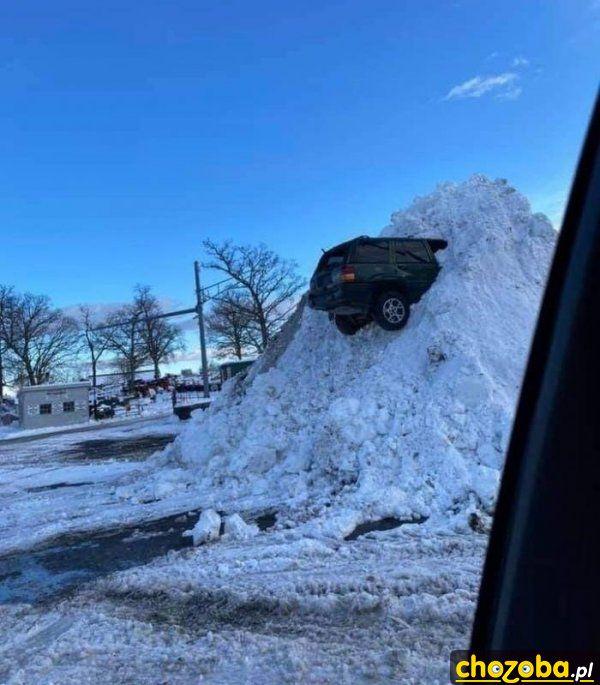 Parkowanie zimą