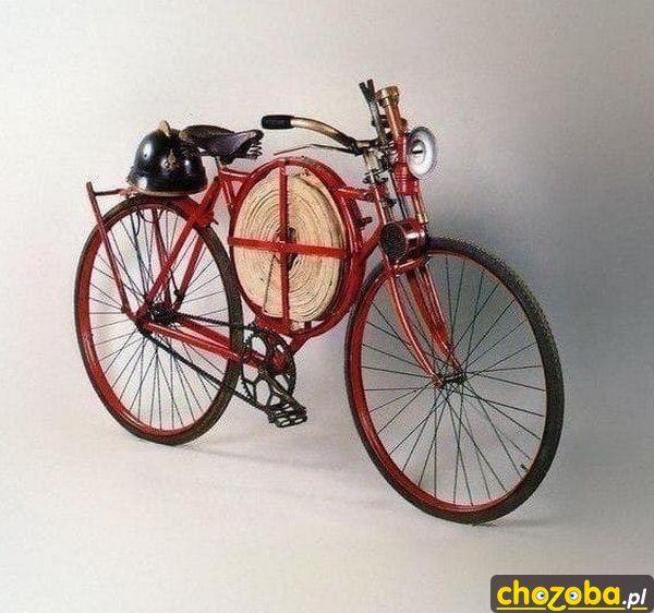 Rower strażacki