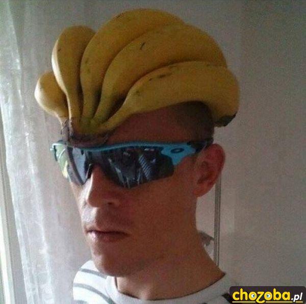 Bananowy kask